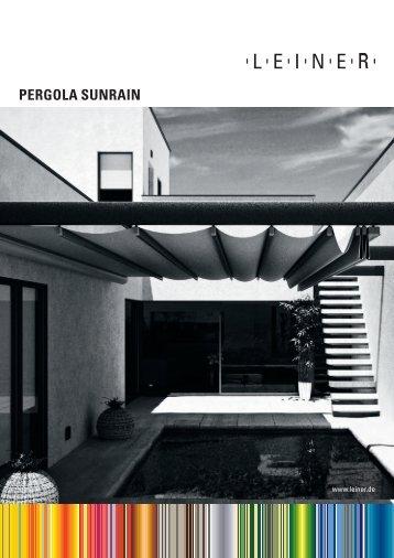 Pergola-SunRain - Leiner GmbH