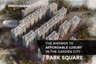 Park Square, The Affordable Apartments in Kanakapura Road