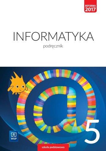 Informatyka Podręcznik Szkoła Podstawowa Klasa 5