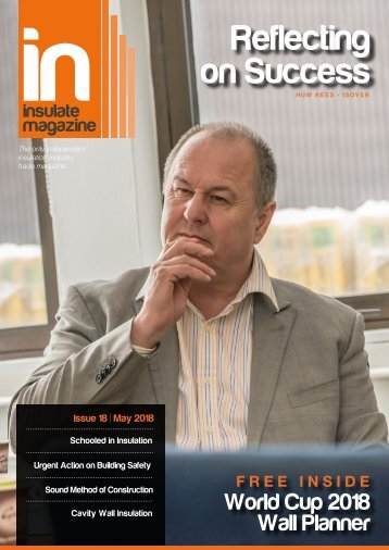 Insulate - The Essential Insulation Magazine - May 2018