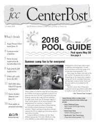 2018 Pool Guide and Summer CenterPost