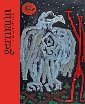 Kunst Auktion 11. - 13. Juni 2012, Germann Auktionshaus, Zürich