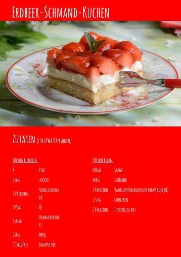Rezept Erdbeer-Schmand final