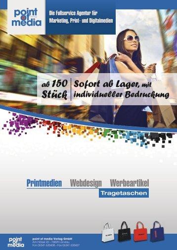 Tragetaschen-Prospekt 2018 komplett - point of media Verlag