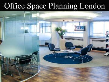 Office Space Planning London