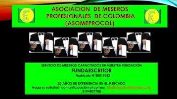 ASOCIACION DE MESEROS