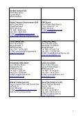 Adressliste geförderter Firmen - Page 2