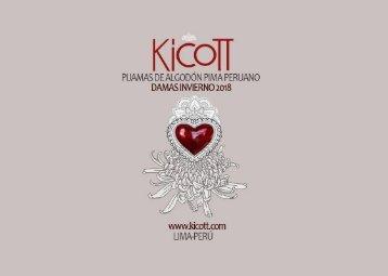 # 31 Catálogo Pijamas Kicott Damas Invierno 2018
