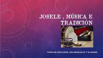 Josele, música e tradición