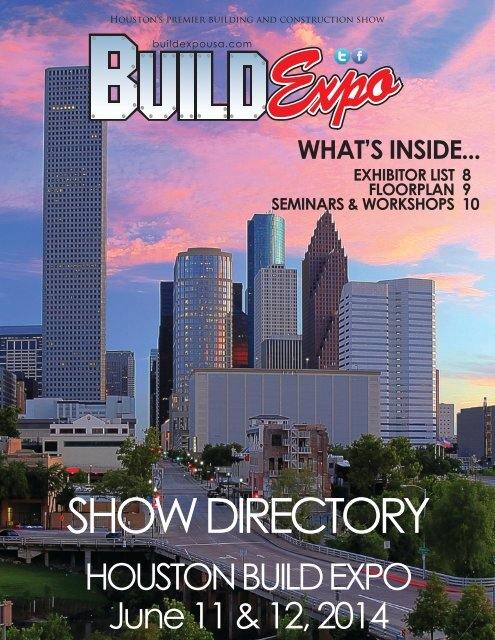 Houston 2014 Build Expo Show Directory