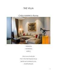 Casa Manni - Rome