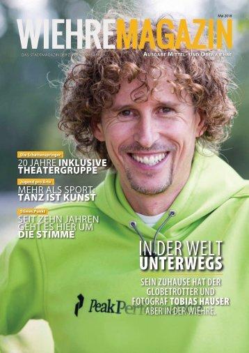 Wiehre Magazin (Ausgabe Mittel-/Oberwiehre, Mai 2018)