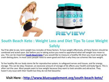 South Beach Keto For Weight Loss, Energy, and Better Health