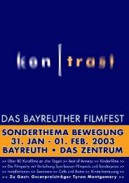 kontrast-Filmfestkatalog 2003
