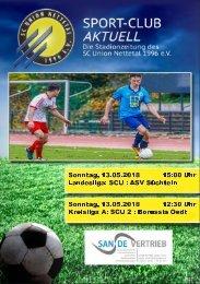 SPORT-CLUB AKTUELL - SAISON 17/18 - AUSGABE 16