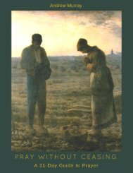 Pray Without Ceasing  By Andrew Murray