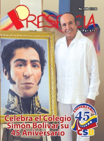 Revista Presencia Acapulco 1098