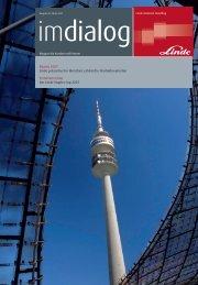 Bauma 2007 Linde präsentiert in München zahlreiche ...
