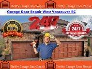 Garage Door Repair West Vancouver BC