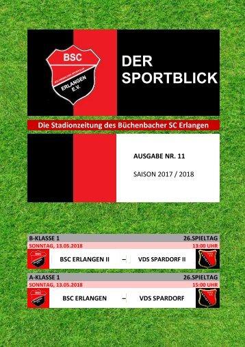 Der Sportblick (Ausgabe Nr. 11 | 17/18)