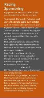 Sponsoren Flyer Yannik Guckeisen Performance - Seite 2