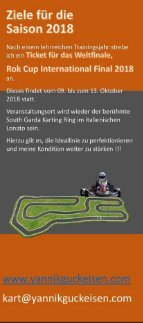 Sponsoren Flyer Yannik Guckeisen Performance - Seite 3