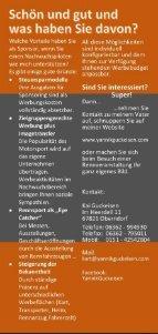 Sponsoren Flyer Yannik Guckeisen Performance - Seite 4