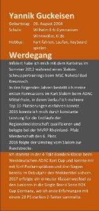 Sponsoren Flyer Yannik Guckeisen Performance - Page 5