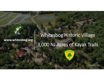 whitesbog paddling