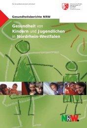 Gesundheit von Kindern und Jugendlichen in Nordrhein-Westfalen