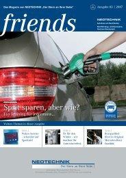 Sprit sparen, aber wie? - Neotechnik Göthe & Prior GmbH & Co. KG
