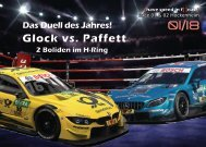 {have speed in f[ ]cus!} DTM 2018 - Race 01 und Race 02 Hockenheim