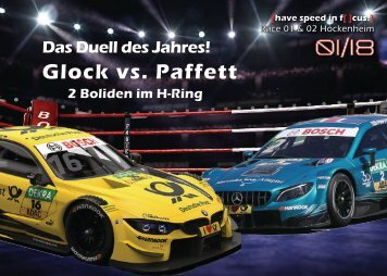 {have speed in f[ ]cus!} DTM 2018 - Race 01 und Race 02 Hockenheim