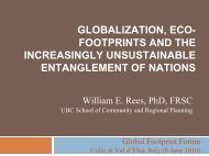 Eco-Footprints, Trade and Neo-Colonialism: The Interface