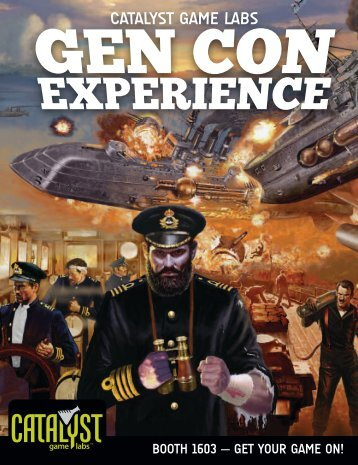 CGL Gen Con Experience booklet - Catalyst Game Labs
