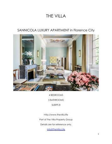 Sannicola Luxury Apartment - Florence City