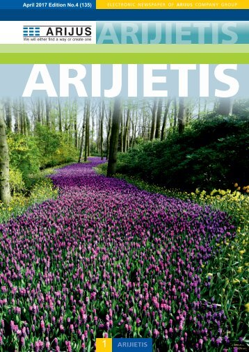 Arijietis 2018 April Edition