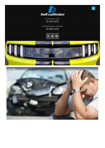 Car Smash Repairs, Panel Beaters, Accident Repair Preston & Thomastown
