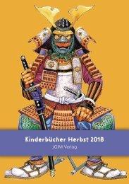 JGIM Verlag . Verlagsvorschau Herbst 2018