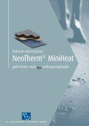 NeoTherm® MiniHeat - Velkommen til P. Henning Jensen ApS