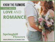 Springhill Flowers - Leading Florists in London Ontario