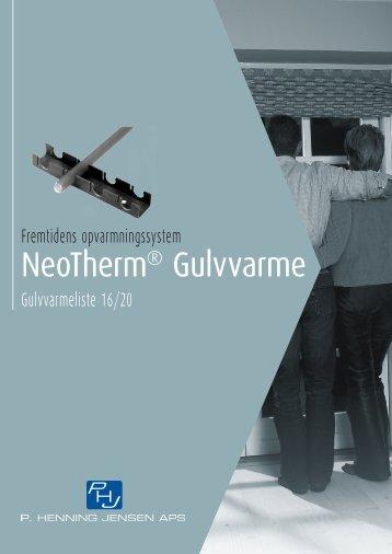 NeoTherm® Gulvvarme - Lavprisvvs.dk