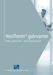 NeoTherm® gulvvarme - Velkommen til P. Henning Jensen ApS