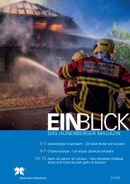 Gemeindemagazin EINBLICK 02/2018