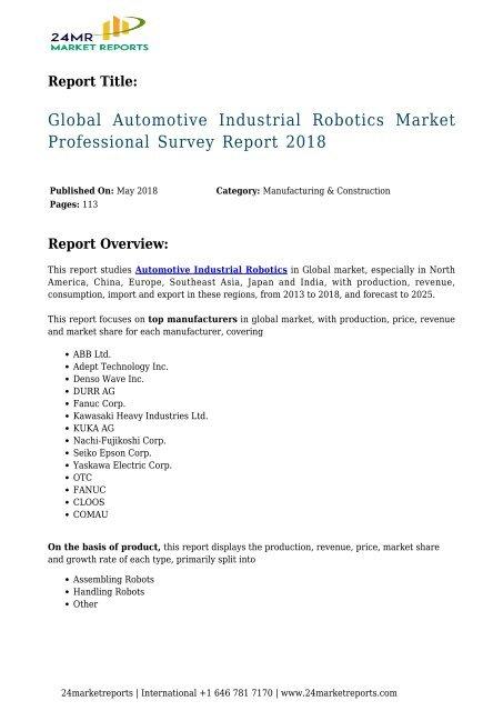 global-automotive-industrial-robotics-market-professional-survey