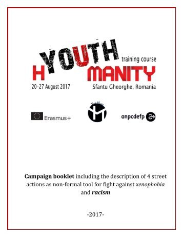 h(Youth)manity Campaign Booklet