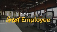 What makes a great employee by the PresentationsPanda