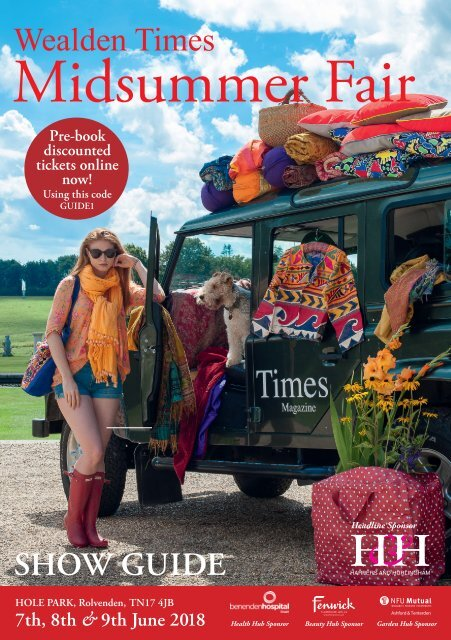 Showguide | MSF18 | Wealden Times Midsummer Fair 2018