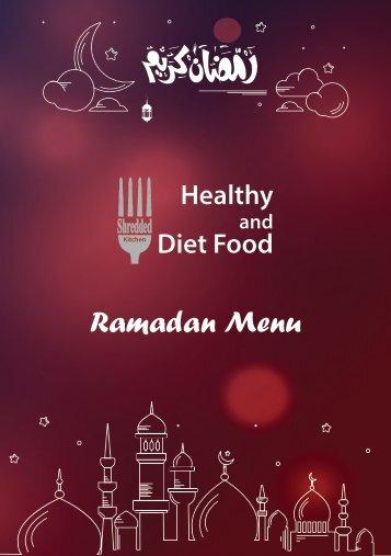 Ramadan Menu - 1