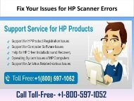 Call +1-800-597-1052 HP Scanner Support Number